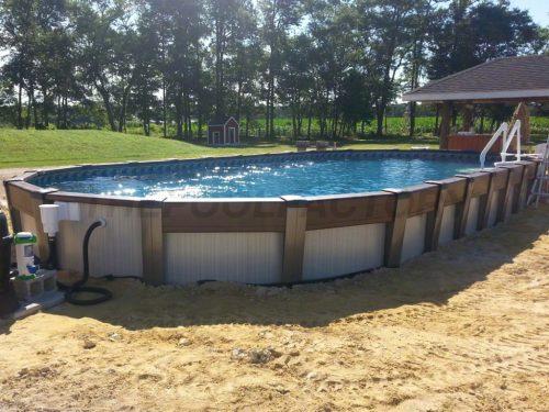 Medium Of Semi Inground Pools