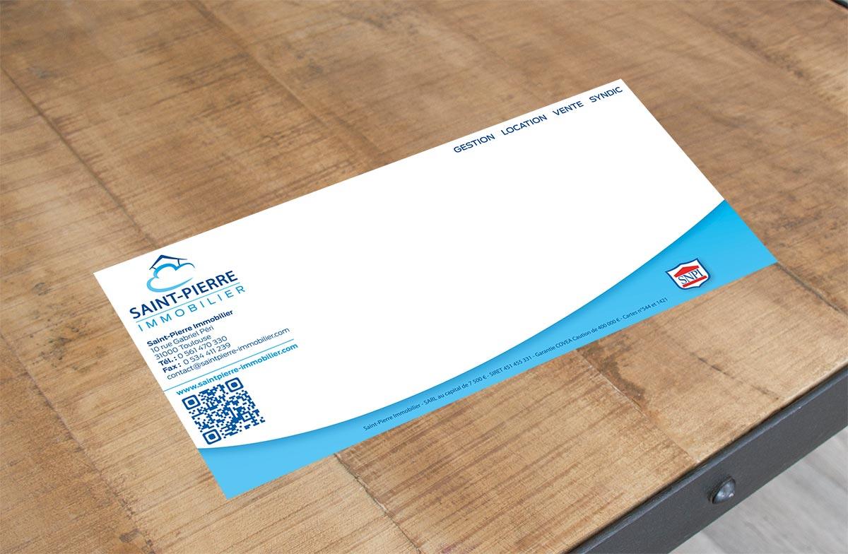Impression de carte de correspondance personnalisée