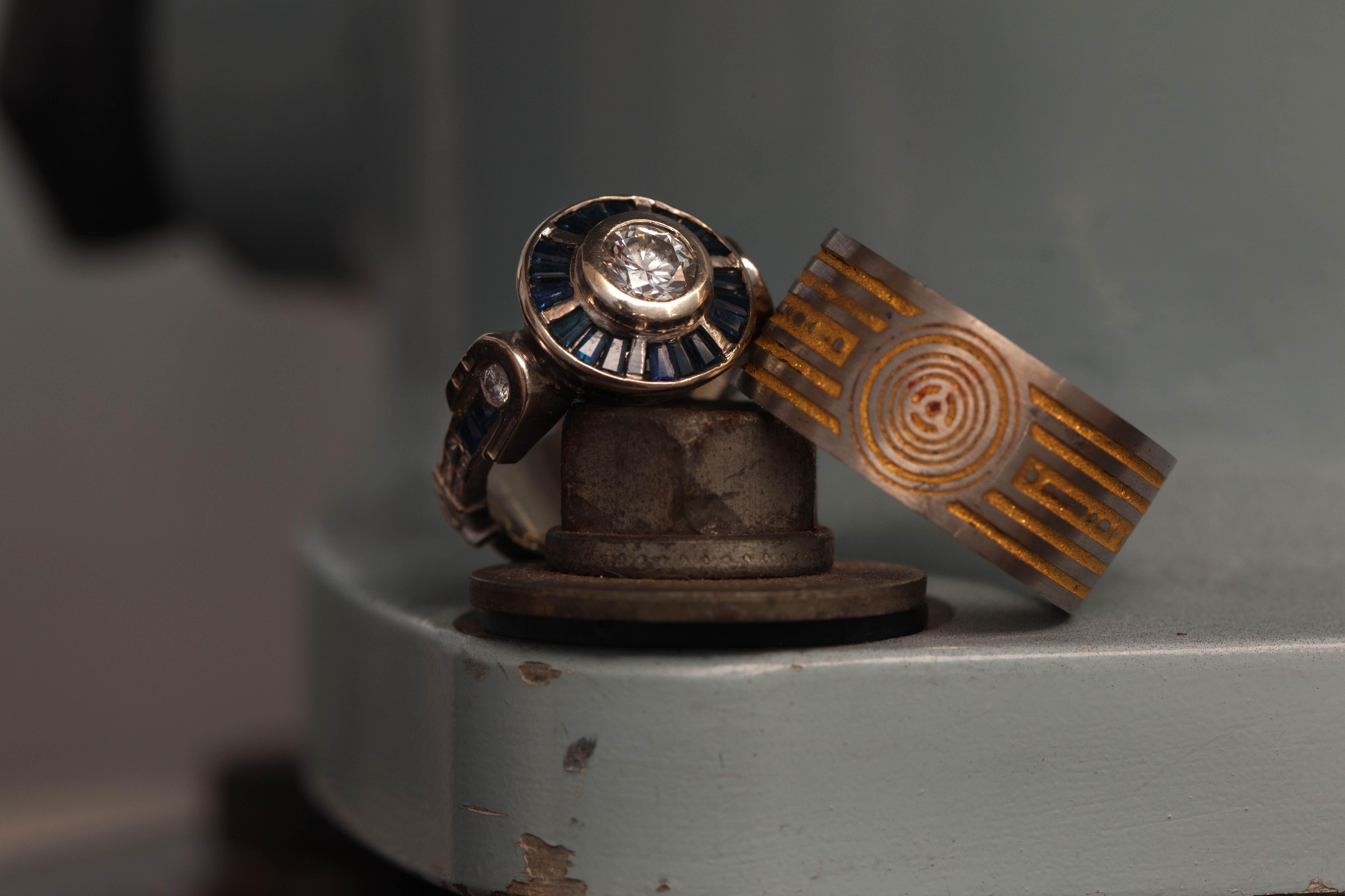 star wars wedding rings star wars wedding rings Star wars wedding rings R And C3po Wedding And Engagement Rings