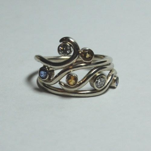 Medium Of Non Traditional Wedding Rings