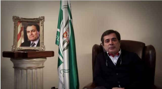 Carlos González, presidente del Córdoba CF se dirige al Rey y Artur Mas en la campaña titulada La Copa del Rey Mola