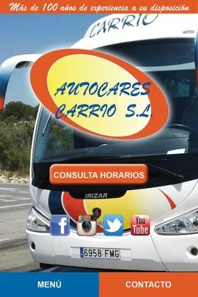 App Autocares Carrió