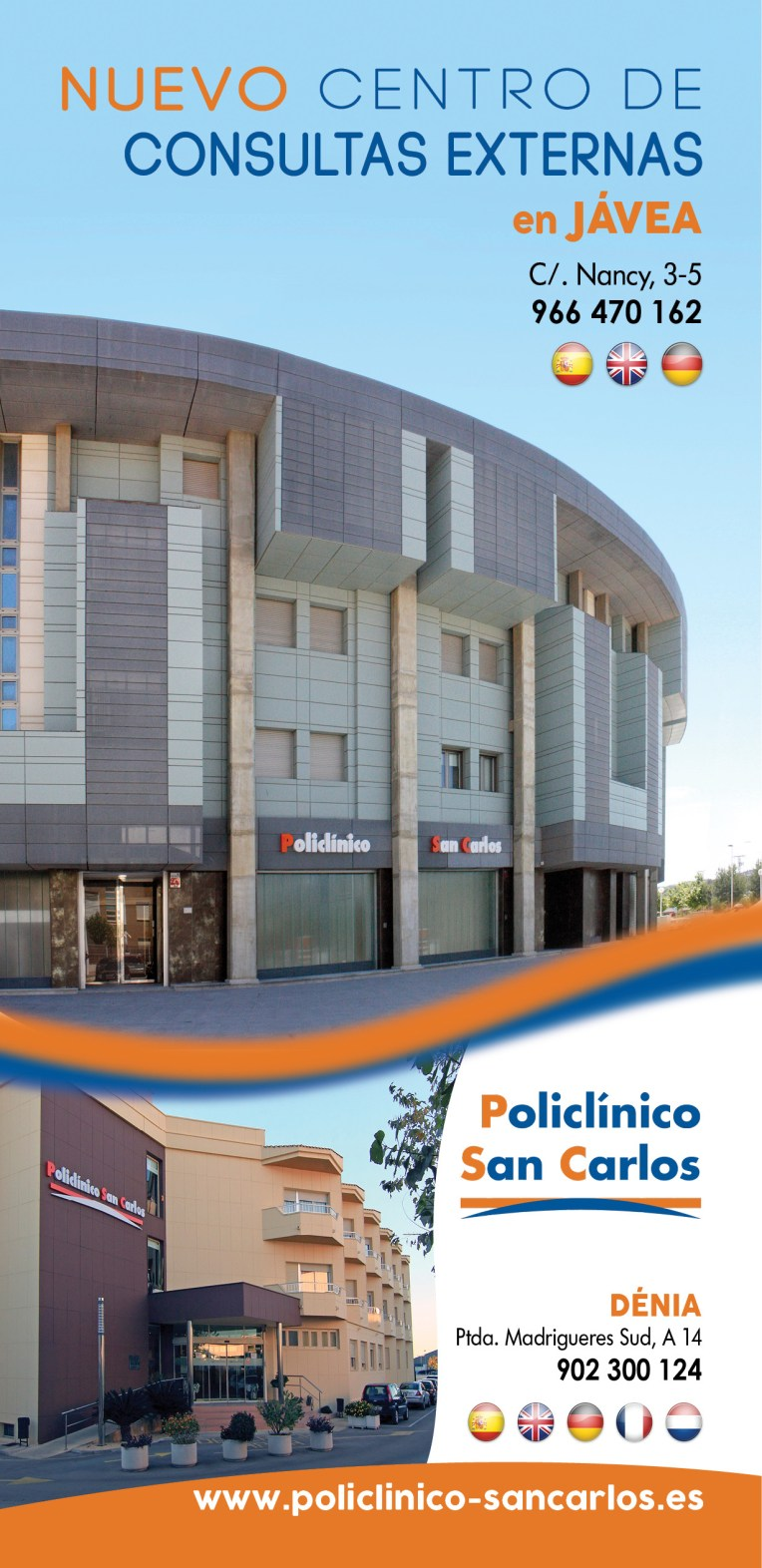 folleto policlinico san carlos