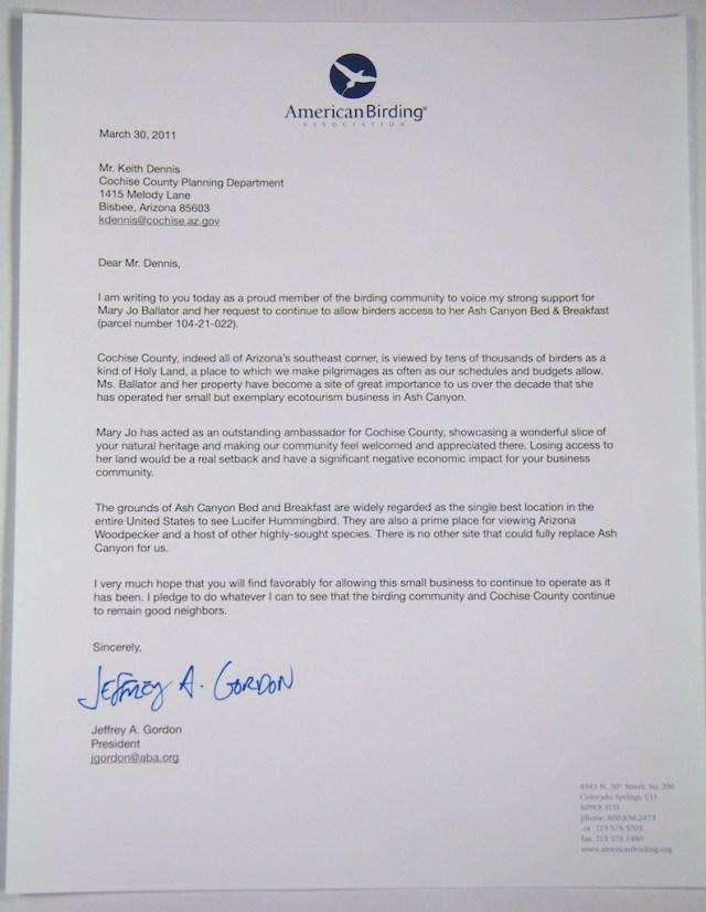 Ash Canyon letter  003