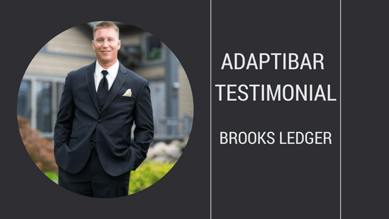 Brooks Ledger's AdaptiBar Testimonial