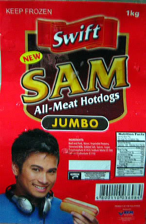 Packaging Hot Dog Sausages Pet