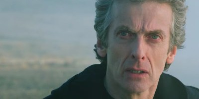 Check out Peter Capaldi's glorious mane, guys.