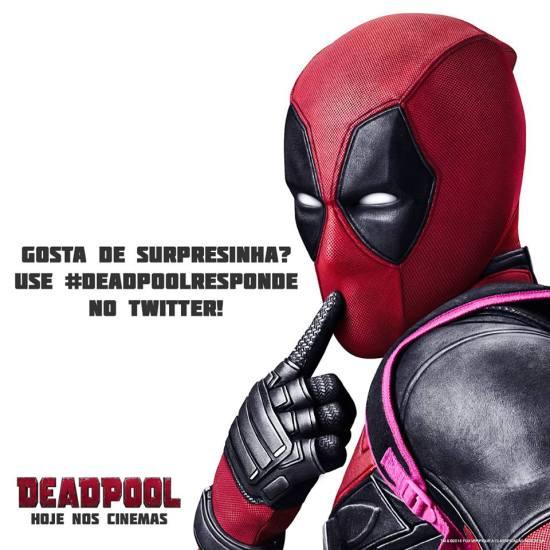#Deadpoolresponde - Twitter