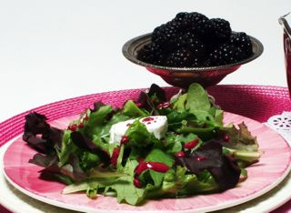 Valentine's Day Starter: Blackberry Salad