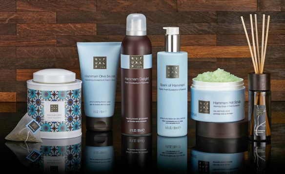 rituals cosmetics bath treats hammam collection