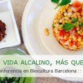 Alkaline Care Conferencia Showcooking Dieta Alcalina