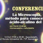 Conferencia David Jiménez Microscopía Alkaline Care