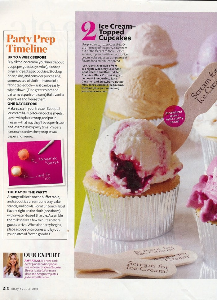 AmyAtlasIceCream2 700x969 Our Ice Cream Story for InStyle Magazine