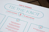 Nautical Tie The Knot Table Chart