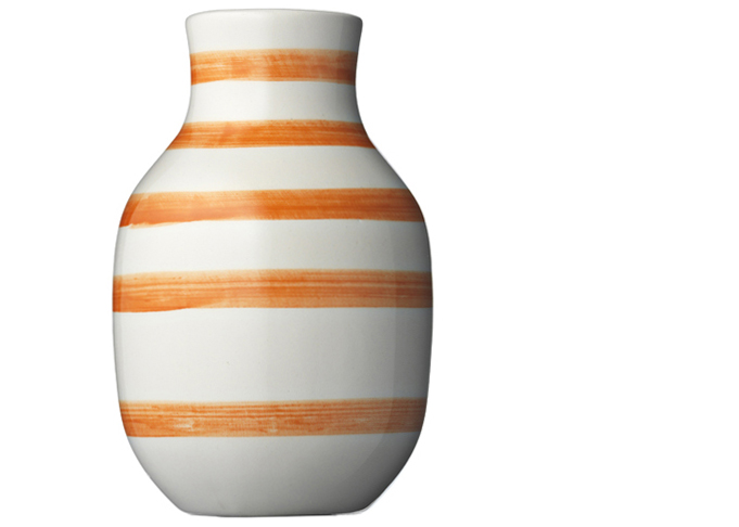 Omaggio Vase H125 Orange 107593 Vases for Halloween from Urban Butik