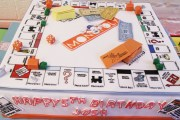 Monopoly Baseball Party for My 'Lil Guy