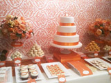 Orange and White Party
