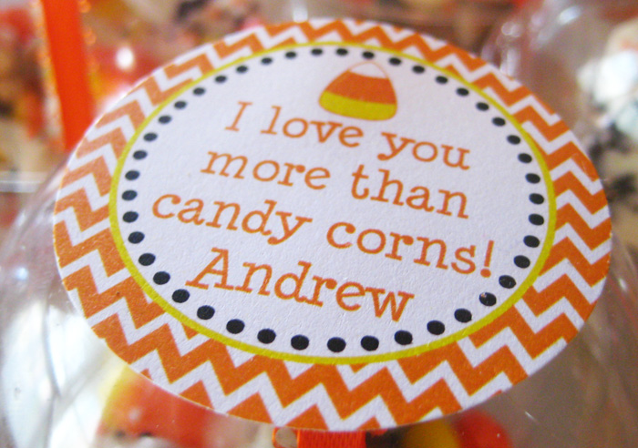 Andrews 2nd birthday 305 Copy Candy Corn Guest Dessert Feature