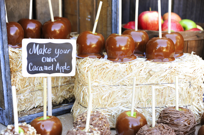 make your own Caramel Apple Affair Guest Dessert Feature