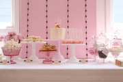 Pretty in Pink Baby Shower Guest Dessert Feature