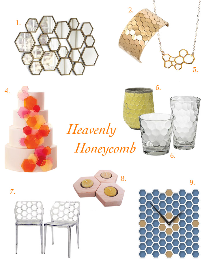 honeycomb board 1 Pattern Study: Heavenly Honeycomb