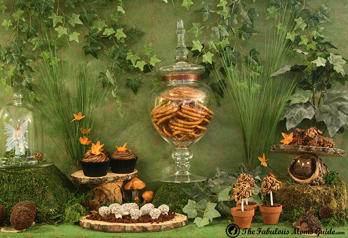 Woodland Chocolate Dessert Table Woodland Guest Dessert Feature