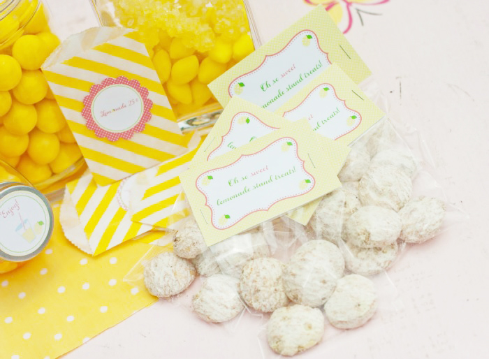 Oh So Sweet Lemonade Stand Treats Giggles Galore1 Sweet Lemonade Stand Guest Dessert Feature