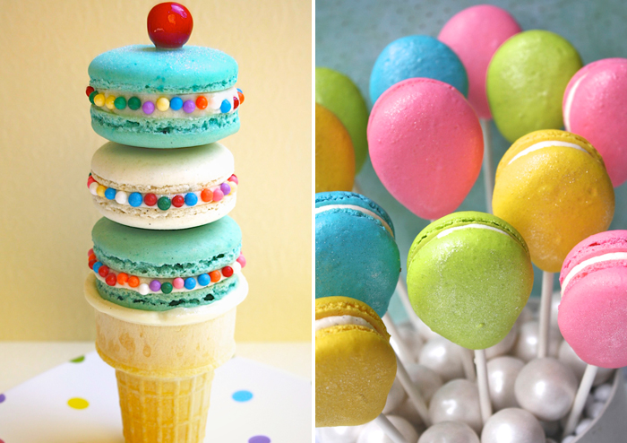 macarons2 Creative Macarons {Great Find}