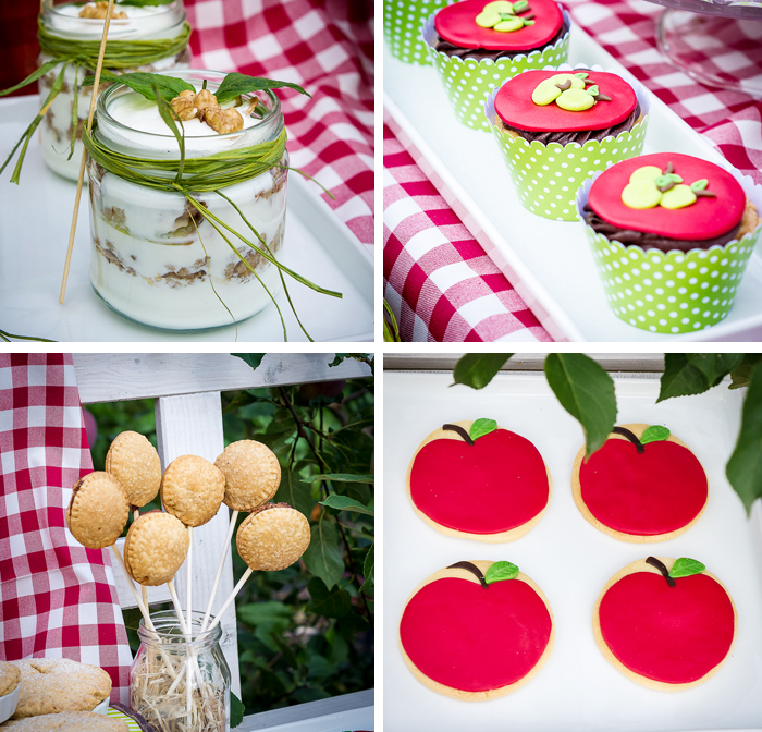 Under The Apple Tree Summer Picnic Dessert Table