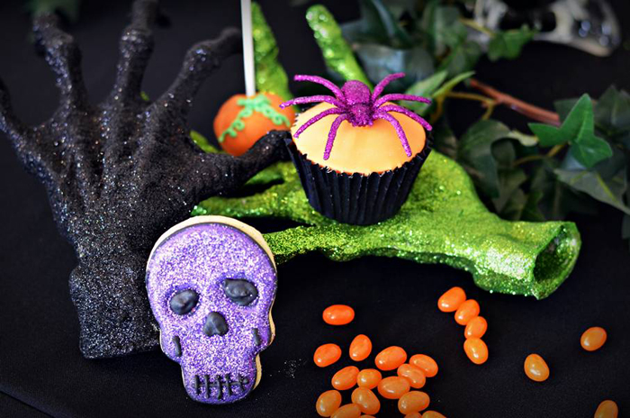 Halloween Party Ideas Purple & Orange