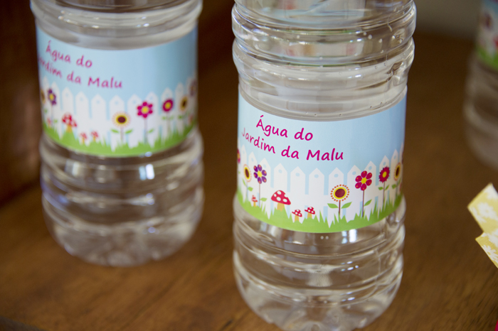 Garden party Ideas water bottle printables