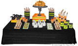 Fun Halloween Party Ideas/Dessert Table {Plus Drink Labels/Treat Box Templates}