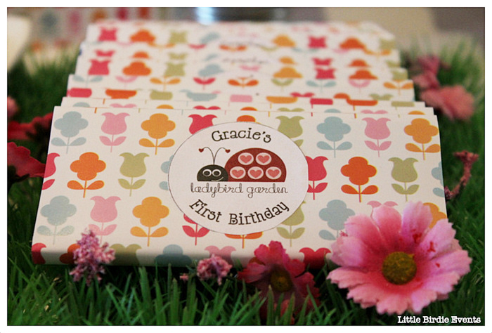 Ladybug Party For Girls Dessert Table