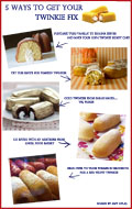 Five Ways to Get Your Twinkie Fix