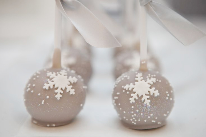 Winter Wonderland Cake Pops Let It Snow Guest Dessert Feature