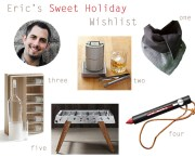 Eric's Sweet Holiday Wishlist