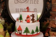 Little Red Riding Hood Guest Dessert Feature