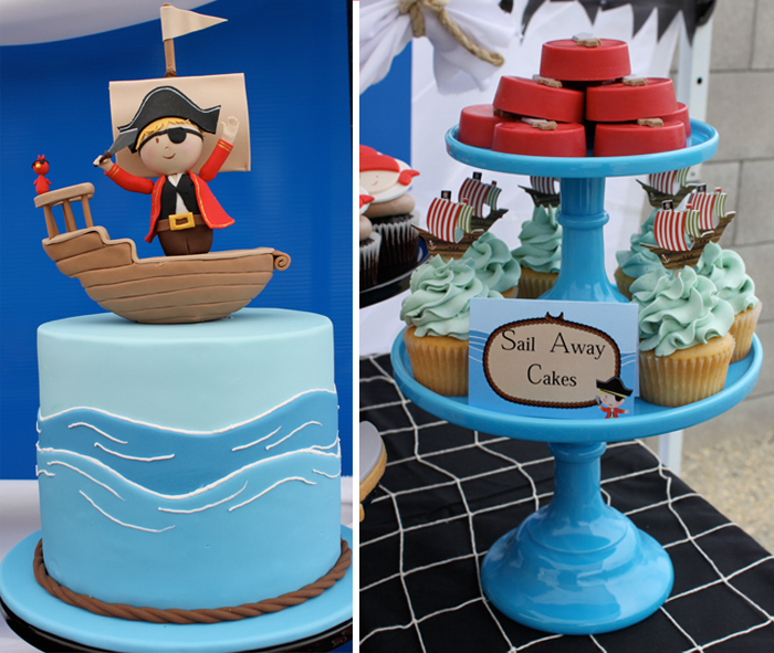 PIRATE CAKE Pirate Party Guest Dessert Feature