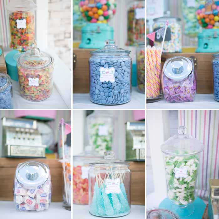 Vintage Candy Table Vintage Candy Table Guest Dessert Feature