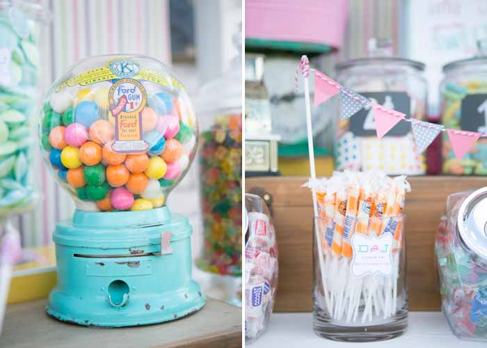 Vintage Gumball Machine Vintage Candy Table Guest Dessert Feature