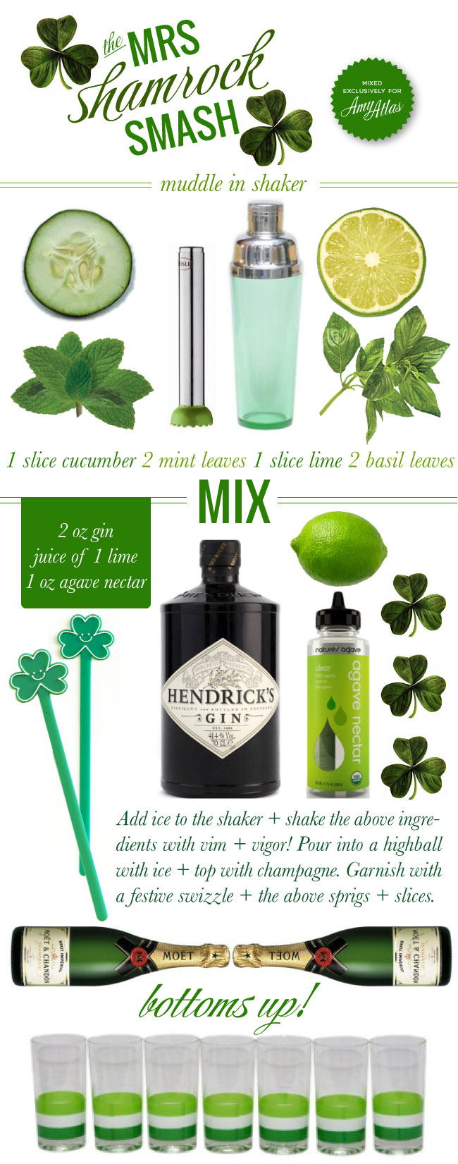 Mrs Shamrock Smash 01 Mrs. Liliens Mrs. Shamrock Smash {Recipe}