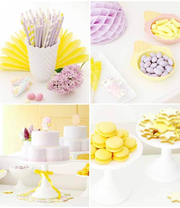 Hello Kitty Purple & Yellow party for girls