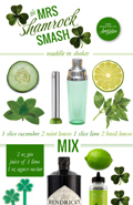 Mrs. Lilien's Mrs. Shamrock Smash {Recipe}