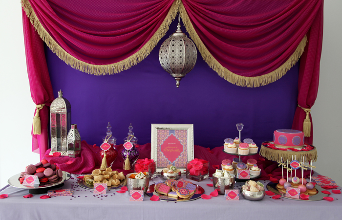 Moroccan Themed Dessert Table