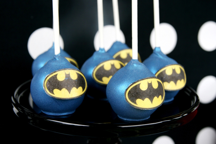 Superhero Cake Pops Calling All Superheroes Guest Dessert Feature