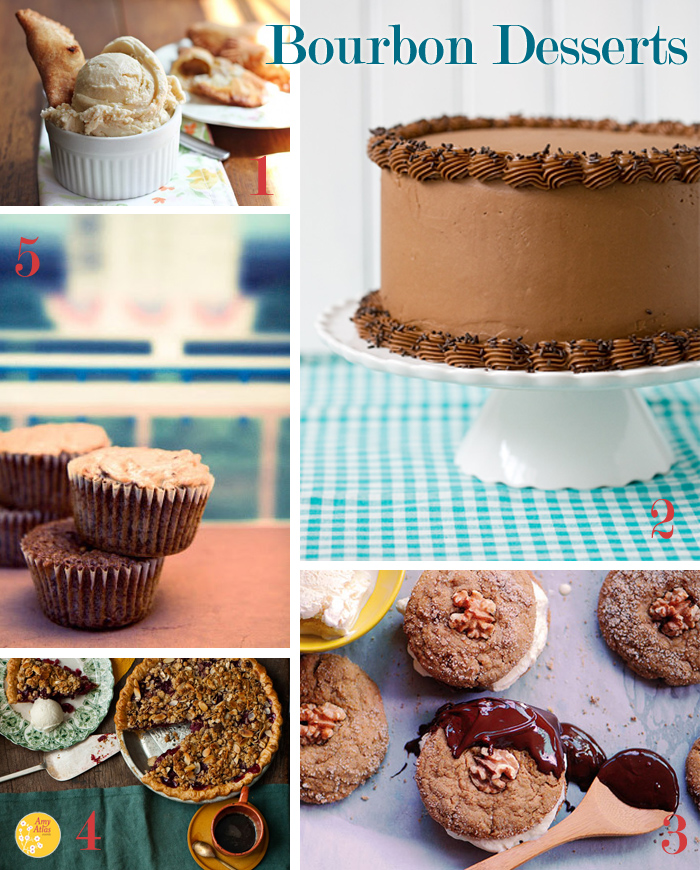 Bourbon4 Sweet Origins: Derby Pie {& Bourbon Desserts Round Up}
