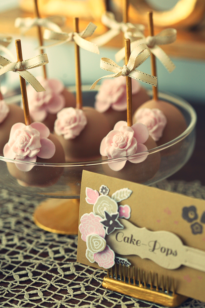 Floral Cake Pops Love Is Sweet Guest Dessert Feature