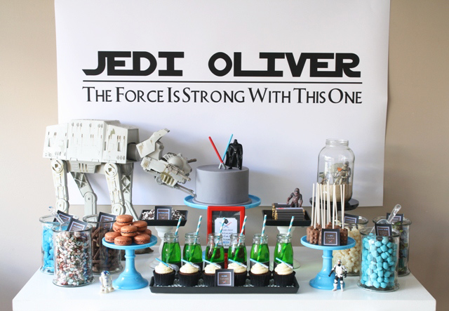 Main Star Wars Dessert Table Star Wars Guest Dessert Feature