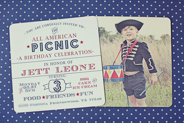Cute Invite1 All American Party Guest Dessert Feature