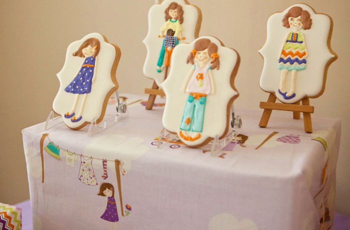 Dress Up Sugar Cookies Dress Up Party Guest Dessert Feature